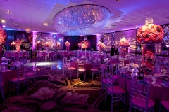 Bat Mitzvah set up