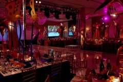Bar Mitzvah set up